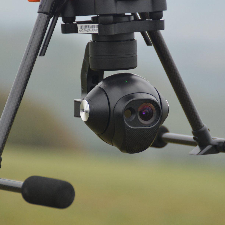 Yuneec H520, CGOET Wärmebildkamera