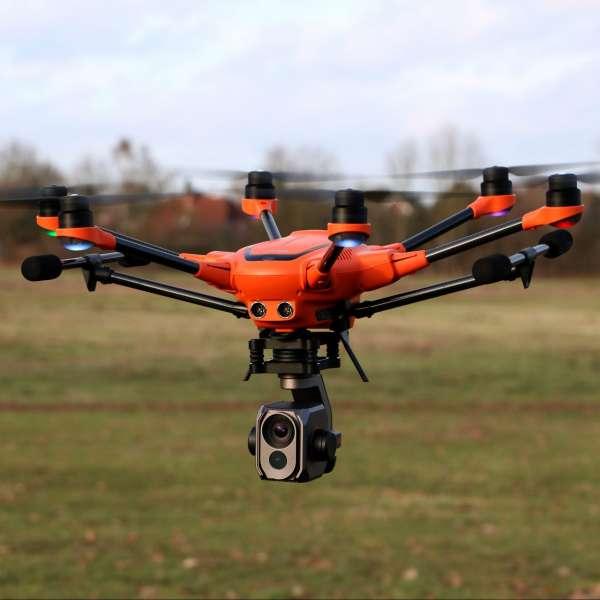 Yuneec H520 E10T, Inspektion Drohne