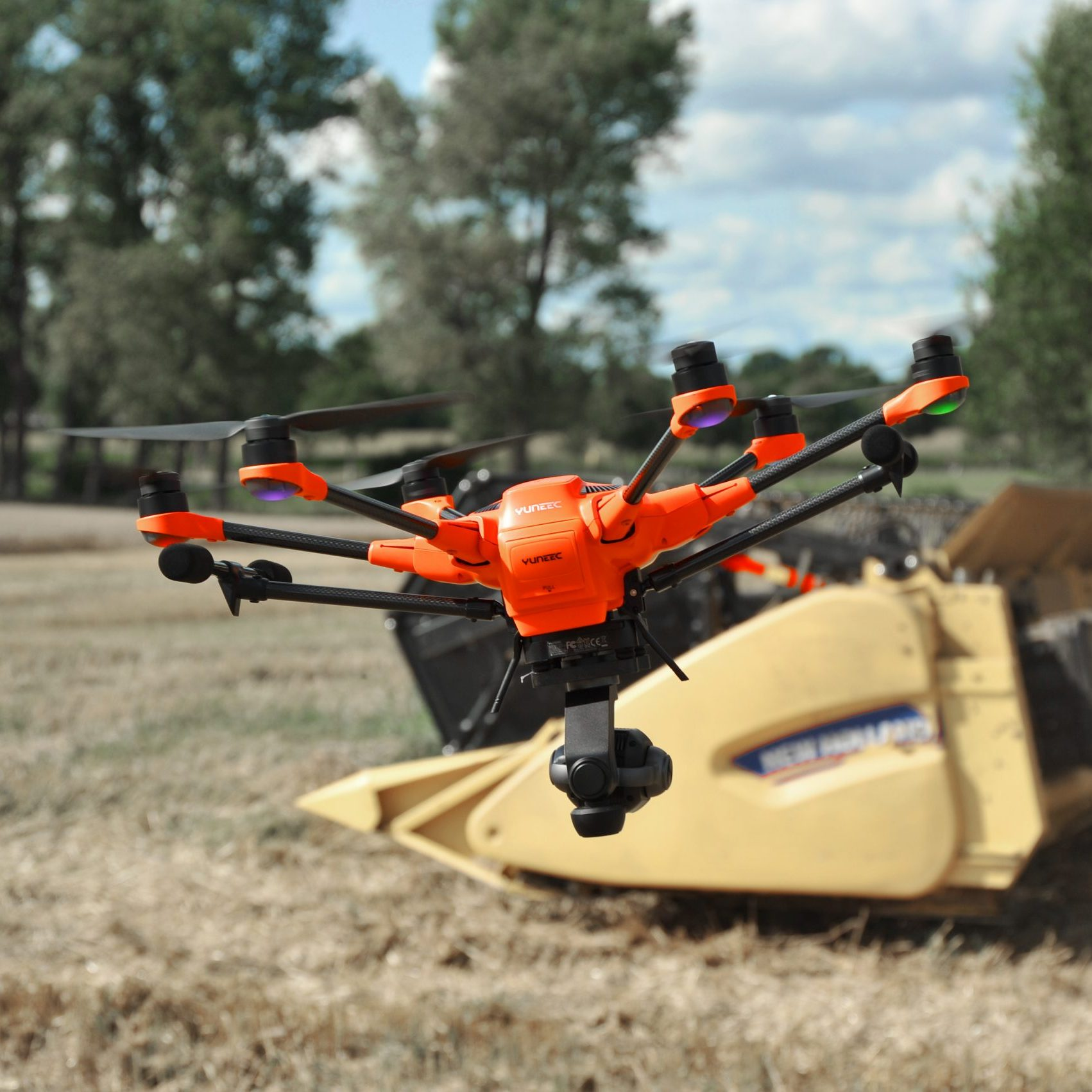 Yuneec H520, Rehkitzrettung/Jagd