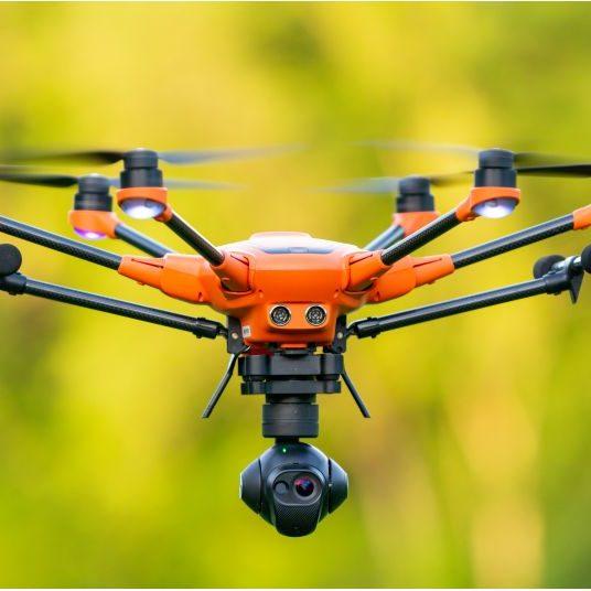 Yuneec H520 CGOET - Drohne mit Wärmebildkamera Rehkitzrettung Jagd